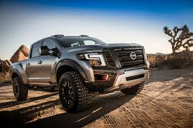 nissan frontier off road nissan titan warrior concept is an off road monster