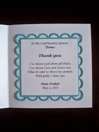 catholic confirmation gifts a wonderful way to say thank you to the confirmation sponsor