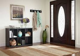 entryway storage bench white entryway storage area created using a