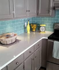 interior stunning glass backsplash tile ideas for kitchen with
