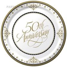 50th wedding anniversary plate 92 best gifts wedding anniversary images on 50th