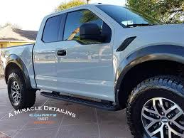 Ford Raptor Grey - 2017 ford raptor light grey a miracle detailing cquartz