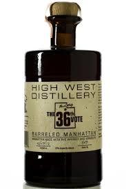 manhattan drink bottle high west u0027the 36th vote u0027 barreled manhattan rye haskell u0027s