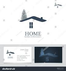 real estate business sign business card stock vector 243560509
