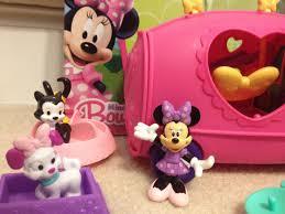 minnie mouse bow tique disney junior minnie u0027s pet tour van playset