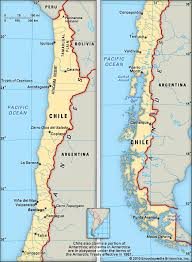 chile physical map chile geography students britannica homework help