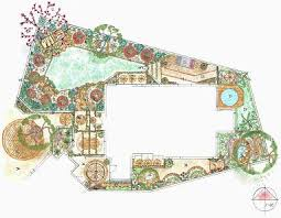 plain garden design layout plans and layouts for your with decor