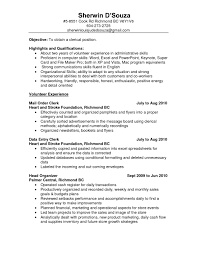 Clerical Resumes Examples by Clerical Resume Samples Free Resume Example And Writing Download