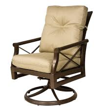 Rattan Swivel Chair Cushion Swivel Patio Chairs With Cushions Patio Decoration