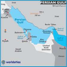middle east map gulf of oman map of gulf gulf map location facts