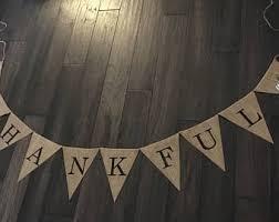 thankful banner etsy