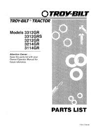 troy bilt lawn mower 3312grs user guide manualsonline com