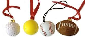 sports ornaments invitation template