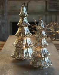 16 inch silver mercury glass lighted tree battery operated buy now