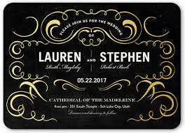 wedding invitations shutterfly exquisite 5x7 personalized wedding invitation shutterfly