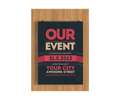 fancy brochure templates event flyer template psd clean minimal and modern theme flyer