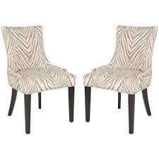 Zebra Dining Room Chairs Furniture Fascinating Zebra Dining Chairs Pictures Chairs Colors