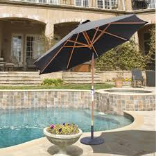 Treasure Garden Umbrella Replacement Pole by Outdoor Garden Umbrella Cover Replacement Canvas Black Outdoor
