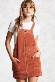 corduroy overall dress forever 21 2000114532