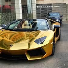 gold lamborghini aventador golden lamborghini aventador roadster in jeddah saudi arabia