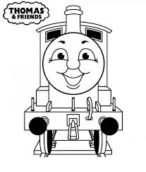 get this easy preschool printable of thomas and friends coloring