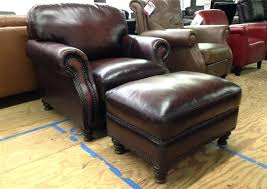 Chair And Ottoman Sale Leather Chair With Ottoman Bikepool Co