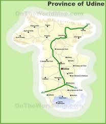 udine italy map udine maps italy maps of udine