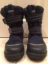 s all weather boots size 12 pediped cold weather boots size eu 31 uk 12 navy ebay