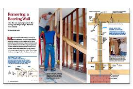 fine homebuilding login removing a bearing wall fine homebuilding