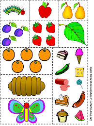 have your student retell the story of the hungry caterpillar by