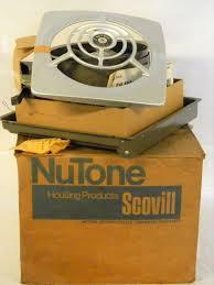 vintage nutone kitchen wall exhaust fan nos nutone 8010 retro 8 kitchen through wall exhaust fan vtg mcm in