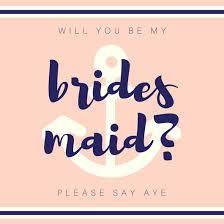invitations for bridesmaids be my bridesmaid invitation templates canva