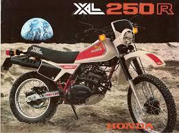 honda xl 250 branca 1983 na garagem de 1982 a 1984 easy rider