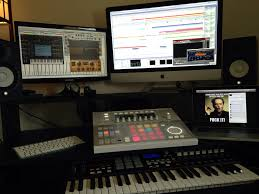 Creation Station Studio Desk by 229 Best Studios Images On Pinterest Music Studios Music