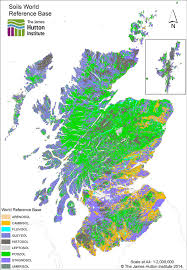 soils of scotland in the world reference base classification