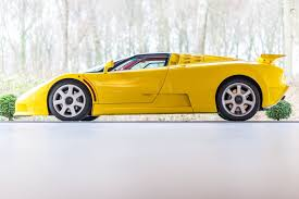 yellow bugatti interesting used car of the week 1995 bugatti eb110 ss