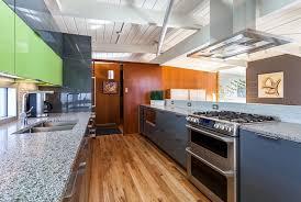 modern wood slab kitchen cabinets contemporary lime green kitchen remodel in denver jm