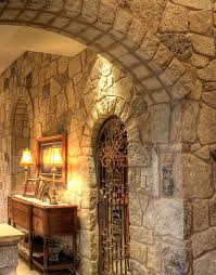 Interior Stone Arches Best 25 Indoor Stone Wall Ideas On Pinterest Stacked Stone