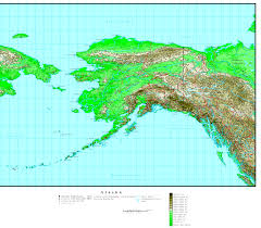 Alaska Inside Passage Map by Alaska Labeled Map