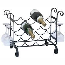 Bakers Rack With Wine Glass Holder Organizer Wine Rack Console Table Wall Wine Glass Rack