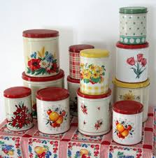 tin kitchen canisters i collecting tin kitchen canisters homey kitchen