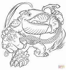 skylander giants outline coloring pages coloring pages