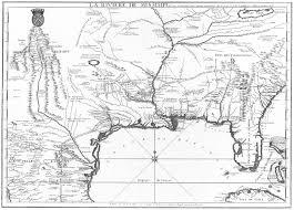 Unc Map Partie Meridionale De La Riviere De Missisipi Et Ses Environs Dan