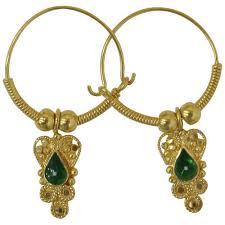 trendy gold earrings trendy gold earrings gold earrings zaveri bazar mumbai minal