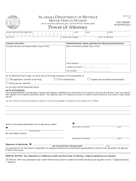 Pdf Power Of Attorney Form by Automobile Power Of Attorney Form 25 Free Templates In Pdf Word