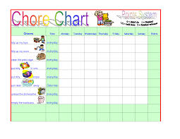 templates for charts