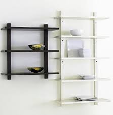 Metal Kitchen Shelves by Wall Mounted Kitchen Shelves Home Design Ideas