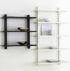 wall mounted kitchen shelves home design ideas