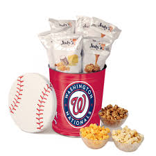 included mlb popcorn tins jody u0027s gourmet popcorn of virginia beach