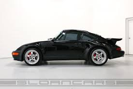 1994 porsche 911 turbo 1994 porsche 964 3 6 turbo s flachbau black 3 338 miles sloan cars